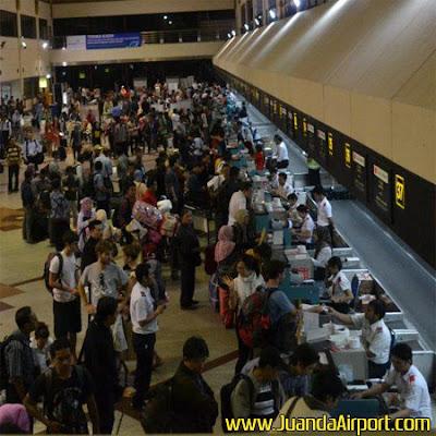 Aktivitas Penerbangan di Bandara Juanda Tumbuh 14 Persen Sepanjang 2016
