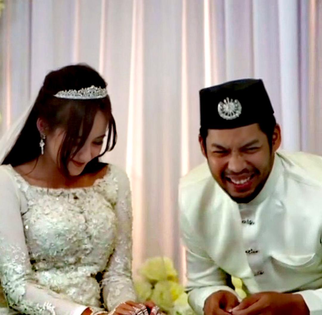 Pelakon Afiq Muiz Kahwin