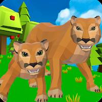 Cougar Simulator: Big Cat Family Game Mod Apk