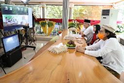 Ganjar Pranowo Gelar Open House Virtual Bersama Warga Jateng dari Amerika Hingga Papua