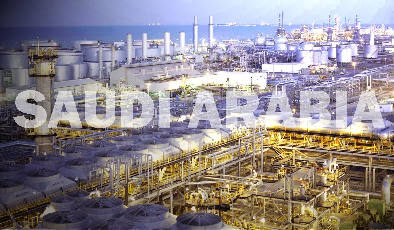 Gambar Tambang minyak Arab Saudi