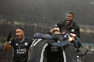 Video Cuplikan Gol: Brighton Hove Albion 0-2 Leicester City (Premier League)