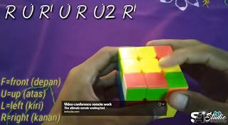 Rumus Rubik 3x3 Ketiga