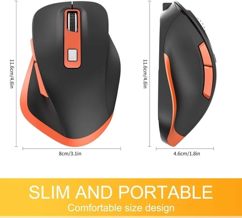 Review Holy Sword Ergonomic Wireless Portable Mouse