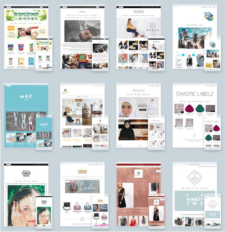 Contoh Kedai Online Gunakan EasyStore