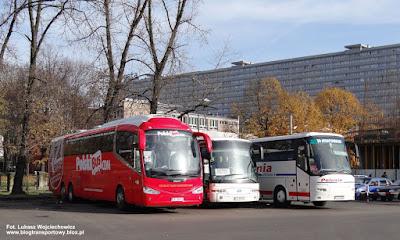 Irizar i6, PolskiBus, Link-Bus, Katowice dworzec autobusowy