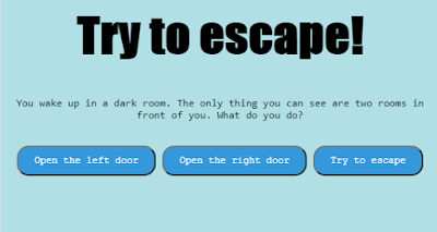 Try to escape! [GAME]