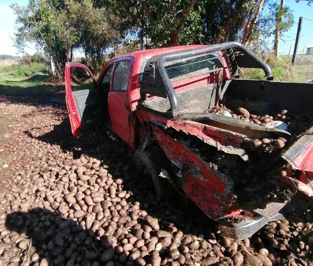 Accidente en el sector Vivanco en la comuna de Río Bueno