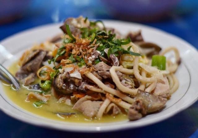 10 Kuliner Makanan Khas Bantul, Yogyakarta - Bakmi Nyemek Bantul