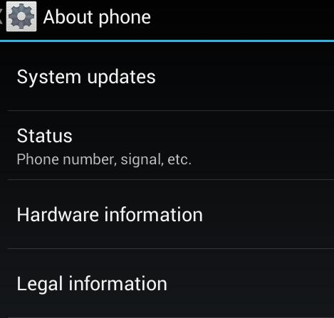 Tech in Check: How to find the IP address of a Motorola Droid Razr