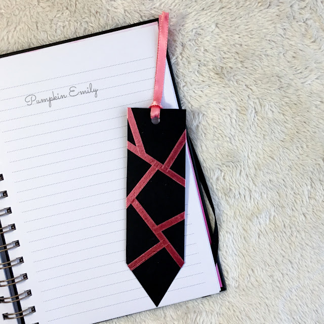 DIY Geometric Bookmark