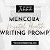 Mencoba Mental Health Writing Prompt