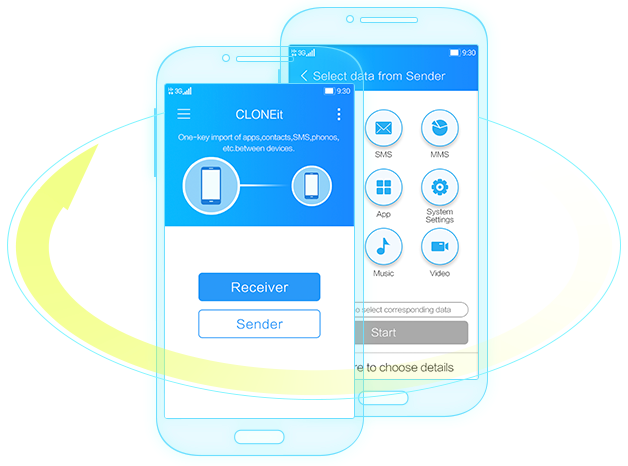 CLONEit makes easy to clone your phone