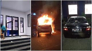 Ambulans Partai Nasdem di Makassar Terbakar, Kantor dan Mobil Dirusak Sejumlah Orang