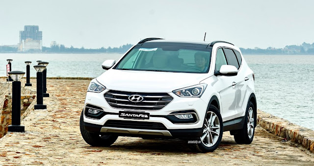 Đánh giá Hyundai SantaFe 2018 ảnh 16
