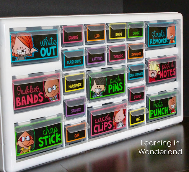 Create your very own teacher toolbox to stay organized!