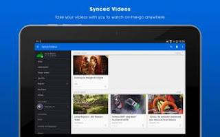 تطبيق Dailymotion للتابلت