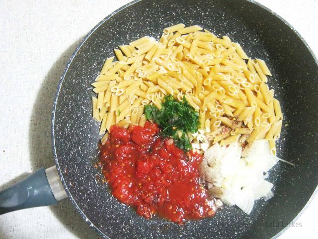 Паста в одной сковороде