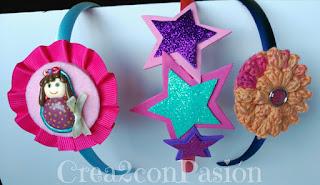 Diademas-corona-y-complementos-para-el-pelo-Crea2-con-Pasión-goma-eva-Ganchillo-y-muñequita