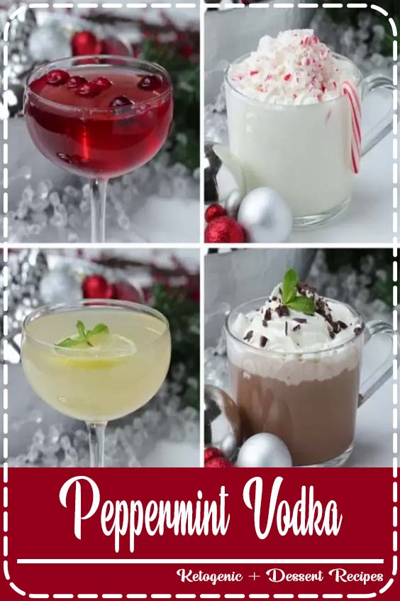 Because why have one ways when you can make it four Peppermint Vodka 4 Ways