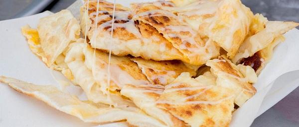 Roti Gluay làm từ trái cây