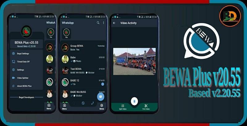 BEWA WhatsApp+ v20.55 (Bug Fixed) Latest Version WhatsApp Mod by Begal Developers