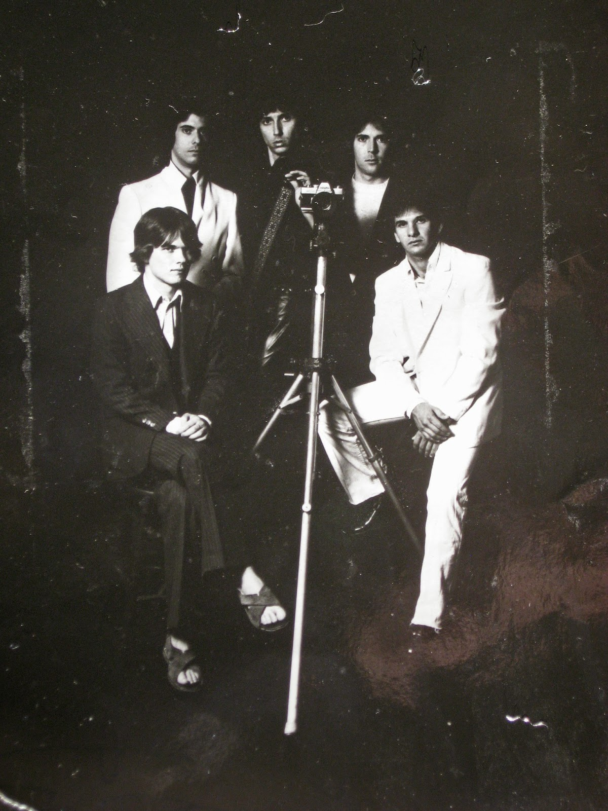 Promo pic I was given from The Soft Parade band back in 1981 at The Factory rock club just days before I shipped out for the navy.