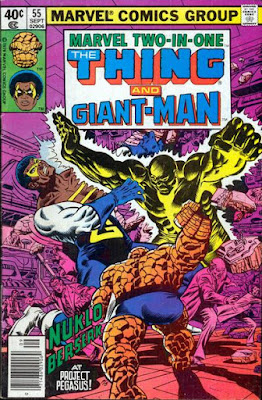 Marvel Two-In-One #55, Black Goliath and the Thing