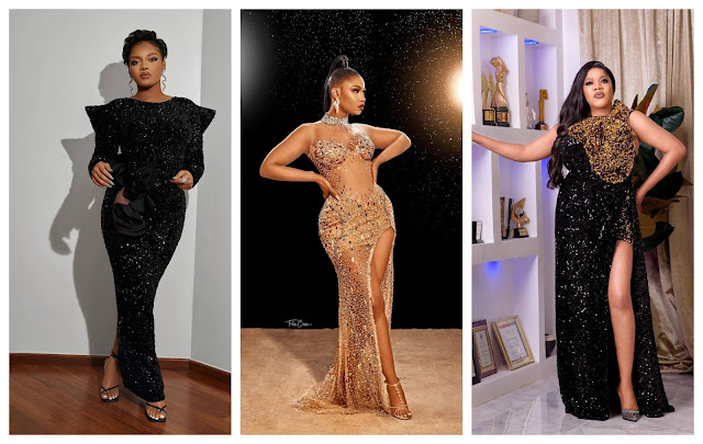 Owambe! Check out the beautiful outfits of celebrities who stormed Comedian AY 5oth birthday
