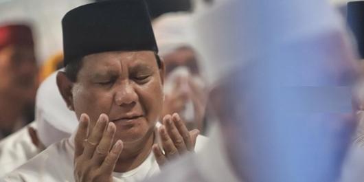 Prabowo: Hitungan Lembaga Survei Dalam-Luar Negeri, Saya di Posisi 58-63%