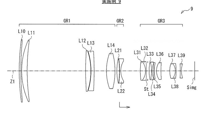 Оптическая схема объектива Sony EF 600mm f/4