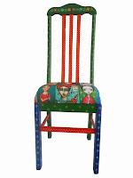 Cadeira Frida Kahlo