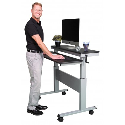 standing desk height for 5'8