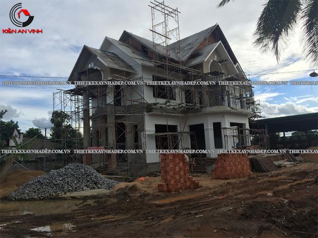 Công ty thiết kế xây dựng nhà, biệt thự giá rẻ tại Tp.Hcm Thi-cong-biet-thu-8