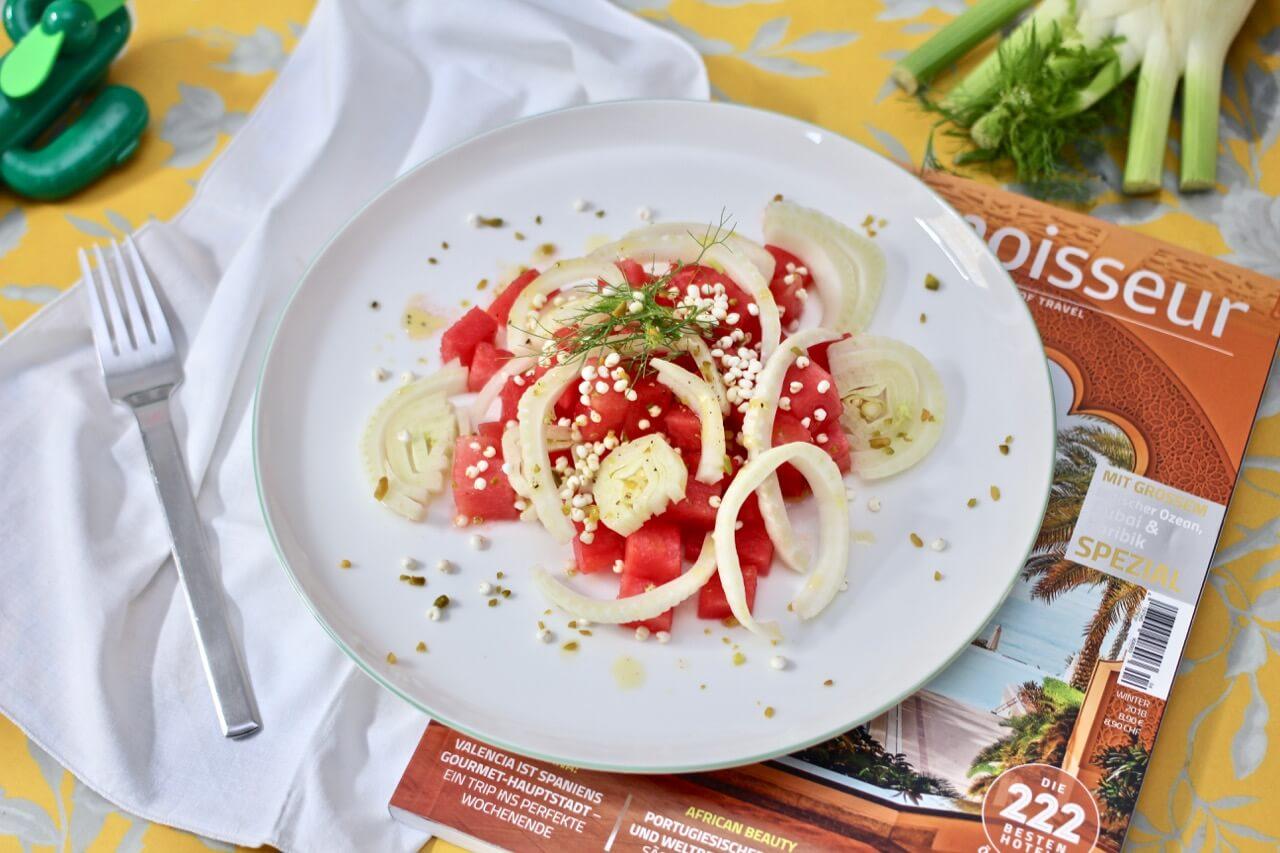 Melonen-Fenchel-Salat