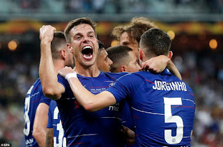 Chelsea 4-1 Arsenal in Europa League