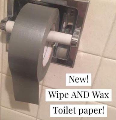 New toilet paper