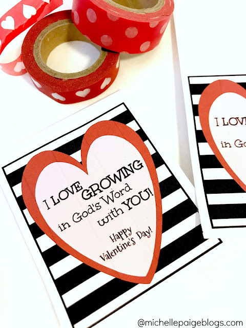 DIY Christian Friendship Valentines