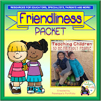 Friendliness Character Education - Social Skills Teaching Packet