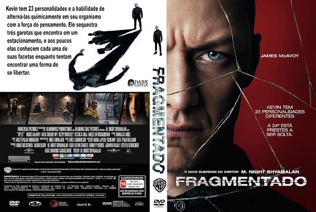 Capa DVD Fragmentado
