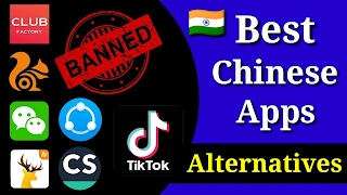 Best Alternative for Chinese apps in India 2020