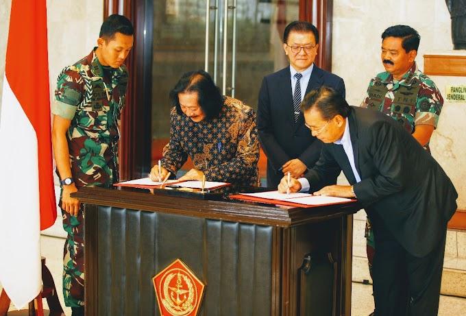 PENANDATANGANAN MoU TZU CHI DAN TNI DALAM PEMBANGUNAN 3.000 RUMAH DI PALU DAN LOMBOK