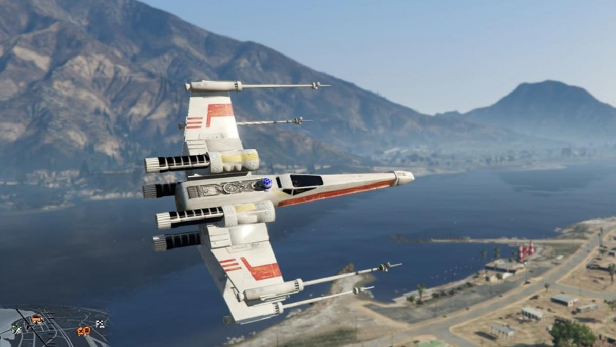 The best mods of spaceships, planes and other flying vehicles for GTA V that you can now download