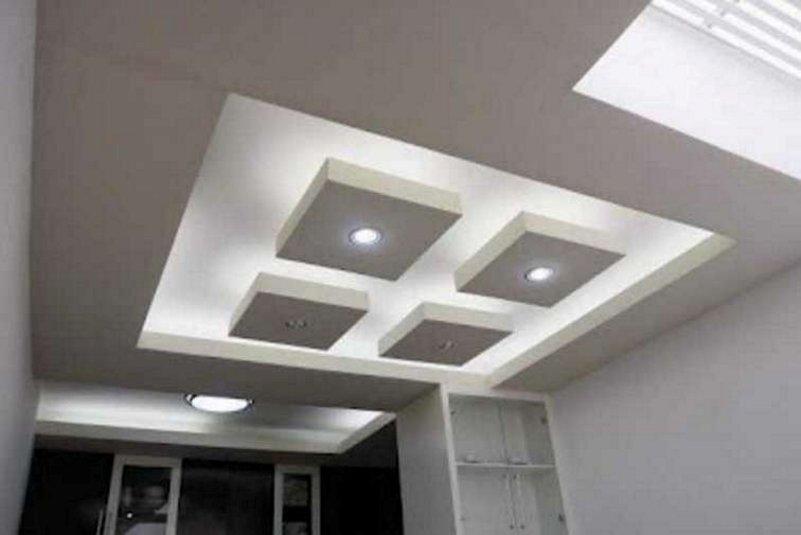 plafon rumah sederhana tampak minimalis