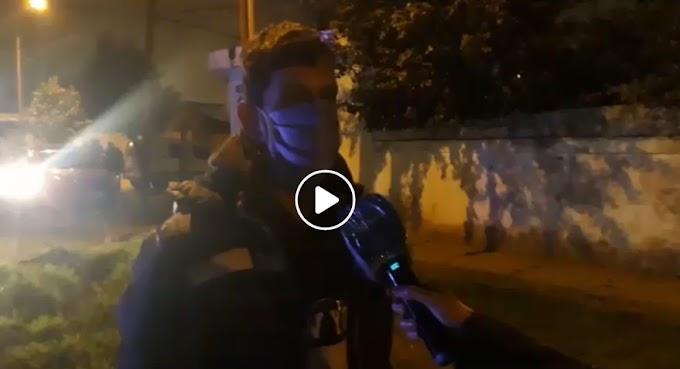 Habló el joven atropellado por el tren en Av. Filippini y Soldado Aguirre