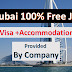 Dubai Free Jobs |VISA + Accommodation + Transportation (Company will provide)| Apply Now.