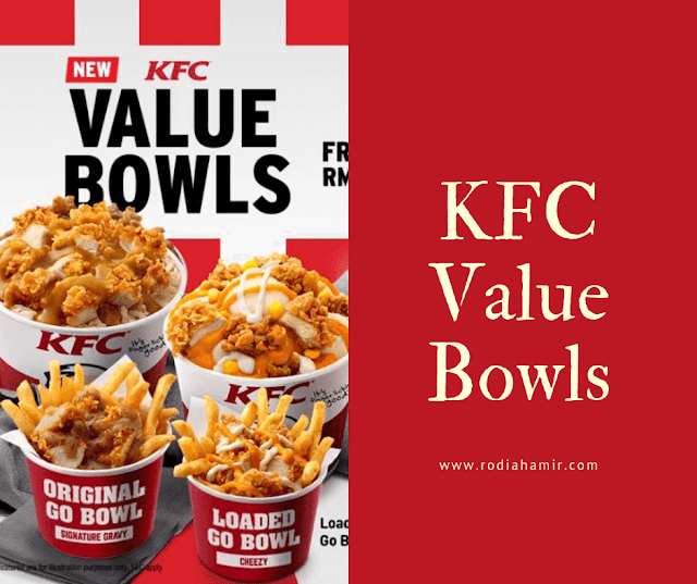 KFC Value Bowls Eat Like A Boss Loaded Potato Bowl
