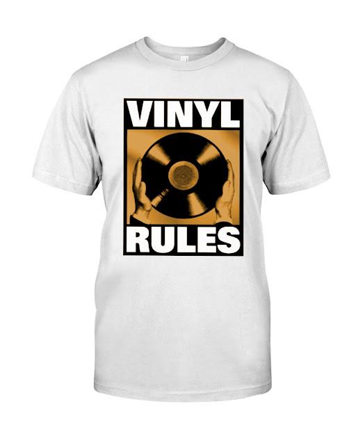VINYL RULES T SHIRT