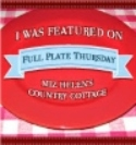 Scratch Made Food! & DIY Homemade Household is a featured blogger at Full Plate Thursdays Link up!