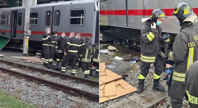 Roma, incidente sul lavoro in deposito dell'Atac: due operai rimangono incastrati